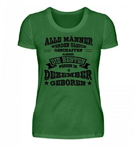 Hochwertiges Damen Premiumshirt - Sternzeichen - Dezember Männer Irisch Grün