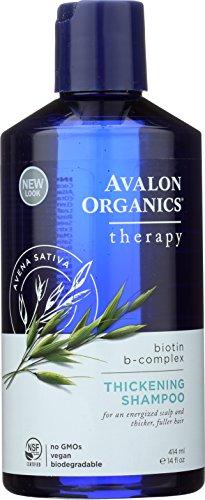 Avalon Organics, Biotin B-Complex Thickening Shampoo, 414ml