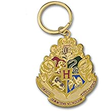 Hogwarts Crest Medalion key chain Keyring Keychain Harry Potter from Studio Tour London Merchandise, Perfect gift for man, women, girls or boys. Key chain key ring is a great present for kids. The emblem is good for holidays like Christmas, birthdays. This keyychain real and feels real. Ideal for baby, Shower Gift. Well made movielike. Add to your keys, school bag, handbag and many more. Great gift idea.