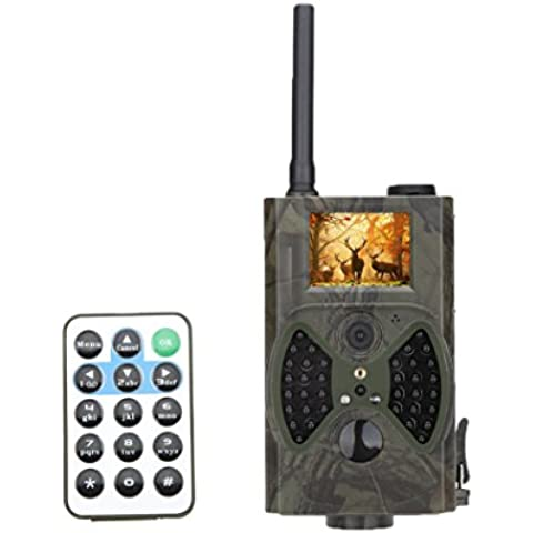 Lixada 940NM Cámara de Exploración de Caza HC300M HD GPRS MMS Rastro Infrarrojo Digital LED GSM