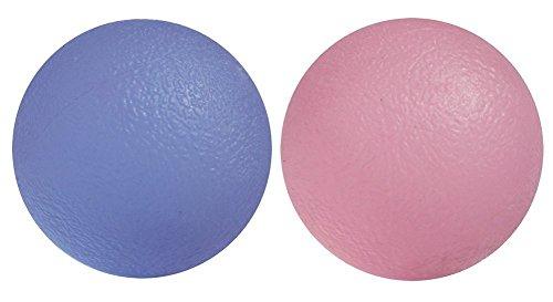 DROVE Gel-Bälle für Training von Hand, Finger, Handgelenk, Arthritis (zufällige Farbe)