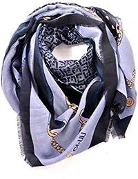 9aa6fd17364b7 Amazon.it  foulard donna liu jo - Blu   Sciarpe   Sciarpe e stole ...