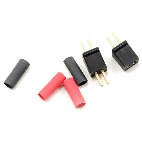 WS Deans 1225 Micro 2NPB - Black Non Polarized Connector Polarized Connector