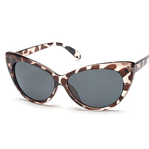 Inception Pro Infinite (Leopard Frame - Black Lens) Sonnenbrillen - Frauen - Katze - Katzenauge