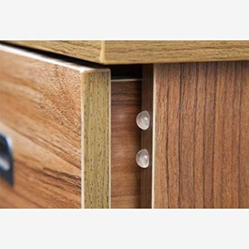 Noradtjcca 24 stücke Türstopper Stoßdämpfer Siliconkautschuk Küchenschrank Selbstklebende Stop Dämpfer Buffer Pad für Möbel -