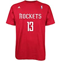 adidas James Harden Houston Rockets NBA Player Red – Camiseta, ...