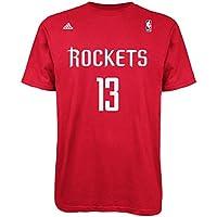 adidas James Harden Houston Rockets NBA Player Red – Camiseta, ...
