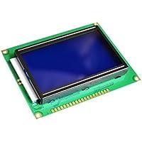 Graphic Dot Matrix LCD 12864, 128 x 64 píxeles, azul/blanco, ST7920, Arduino #1405