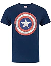 bc2dadbad6a5 Amazon.fr   Captain America - T-shirts à manches courtes   T-shirts ...