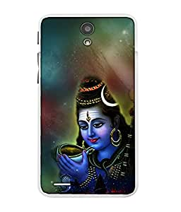 CRAZYMONK DIGITAL PRINTED BACK COVER FOR INFOCUS M260