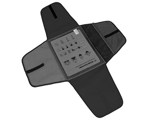 Bagsmart - Compartimento antiarrugas para camisetas; accesorio de male