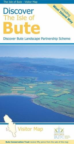 Book Epub Discover the Isle of Bute – Visitor Map: Including the West Island Way