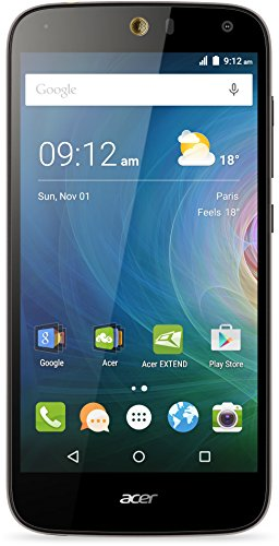 Acer Liquid Z630S Dual-SIM LTE Smartphone (14 cm (5,5 Zoll) IPS HD Zero-Air-Gap Display, 32GB Speicher, Android 5.1) schwarz-gold