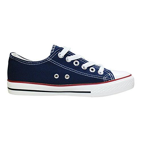 Homens Sapatos 41 De Baixo Sapatos Sapatilha Azul Mulheres Escuro Ficar Da De Da 36 Lona De Desporto Sapatos De Cult Dança qIwCpCxR
