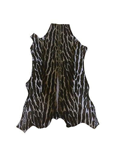 Zerimar Alfombra piel de gacela sudafricana Medidas: 90x60 cms Estampado exotico 100% Natural