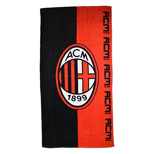 AC Milan Half Towel (Red-Black)
