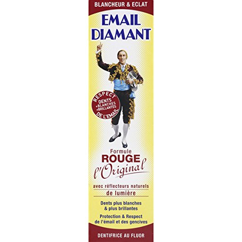 Dentifricio denti sensibili gengive arrossate - Effetto Sbiancante - Email Diamant Rouge Originale - 50 ml