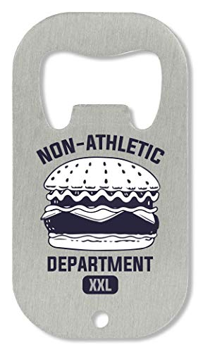 OpenWorld Non-Athletic Department Burger Cool Phrases Collection Funny Thoughts Flaschenöffner -