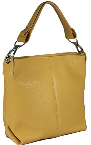 Giostra , Sac pour femme à porter à l'épaule Jaune jaune jaune