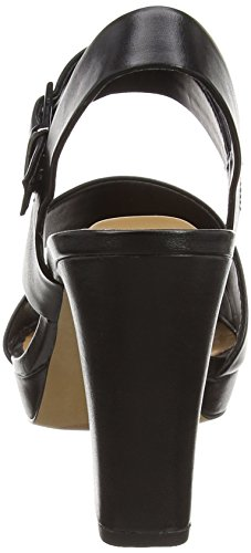 Clarks Jenness Soothe Damen Slingback Schwarz (Black Leather)