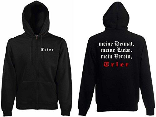 world-of-shirt Herren Kapuzenjacke Trier Ultras meine Heimat