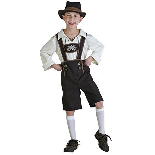 GWELL Jungen Kostüm für Kinder Bühnenkostüme für Oktoberfest Halloween Karneval Cosplay S