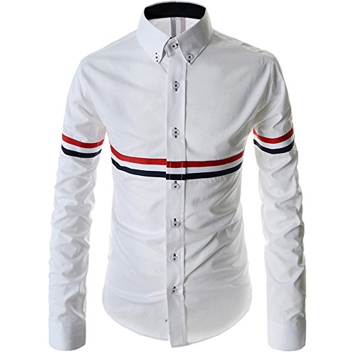 YL - Chemise casual - Homme Weiß