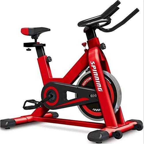 Bicicleta De Spinning En Casa Ejercicio En Bicicleta Equipo De La Aptitud De Acero Chapado Gran Volante...