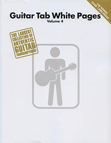 Kiss Guitar Tab Book (Guitar Tab White Pages - Volume 4)
