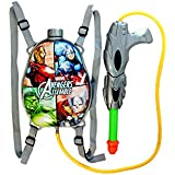 Sunshine Gifting Holi Water Gun with Pressure with Back Holding Tank (1.0 L) - Grey