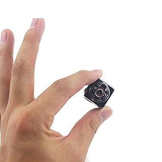 Tangmi 1080P volle HD Mini Kamera, 12 Million Pixel Überwachungskamera mit Bewegungs Abfragung und InfrarotNachtsicht für HauptSicherheit / Büro / Garten / Garage