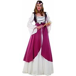 Lima - Disfraz de cortesana para mujer, talla S (MA578)