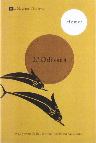L'odissea (CLÀSSICS GRÈCIA I RO) por Homero Ns