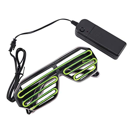AUNMAS Led Brillen Glowing Safety Rave Aviator Light Brille für Kostüm Geburtstag Party personalisierte Dekorationen(1#)