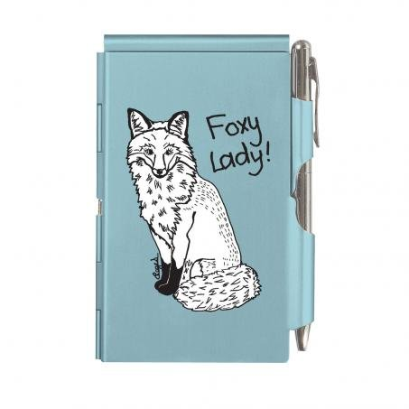 casey-rogers-designer-glamorous-flip-notes-blue-foxy-lady-ladies-handbag-notepad-in-case-with-pen