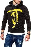 JACK & JONES Herren Hoodie Kapuzenpullover Sweatshirt (L, Tap Shoe)