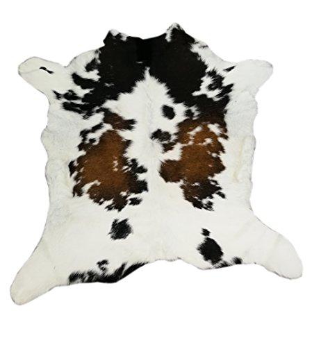 Zerimar Kalb Kuhfell Teppich Qualität Premium Brasil Perfekt für die Dekoration