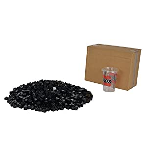 "Simba 104114120 ""Blox 4-Stud Black Building Blocks Set (1000-Piece)"