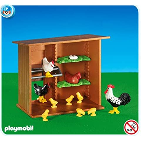 PLAYMOBIL 6207 - Casita de Gallinas