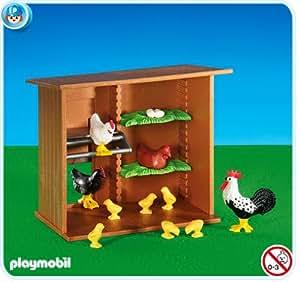 PLAYMOBIL 6207 - Poulailler avec animaux
