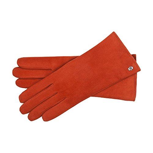 Roeckl Damen Handschuhe 13011-409, Rot (Brick 272), 7