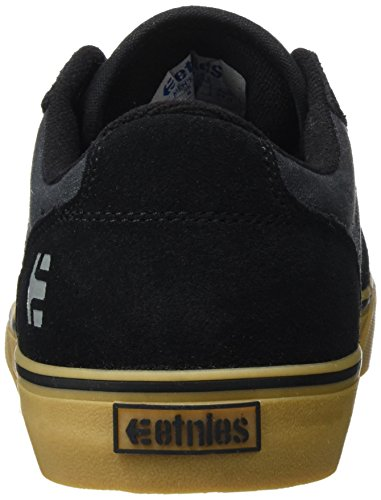 Etnies Barge Ls, Chaussures de Skateboard Homme Black Dark Grey Gum