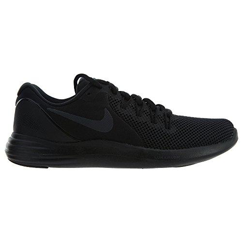 Nike Unisex-erwachsene Wmns Flex Contatto Fitnessschuhe, Schwarz Nero / Antracite-grigio Scuro