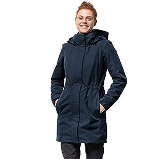 Jack Wolfskin Damen 3-in-1 Mantel Ottawa Coat Jacke, Midnight Blue HW17, S
