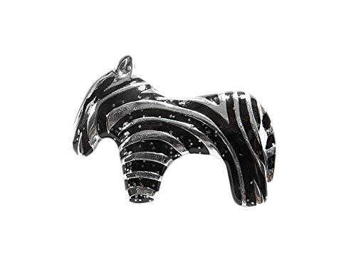 lated Zebra Stripes Pin Brooch ()