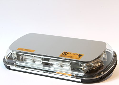440mm 12/24v LED Amber Light Bar Beacon with Permanent for sale  Delivered anywhere in UK