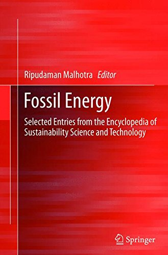 Fossil Energy: Selected Entries from the Encyclopedia of Sustainability Science and Technology