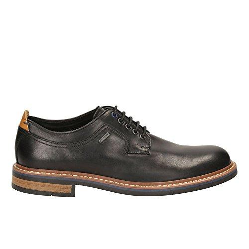 Clarks Détente Habillé Homme Chaussures Darby Walk Gtx En Cuir Noir