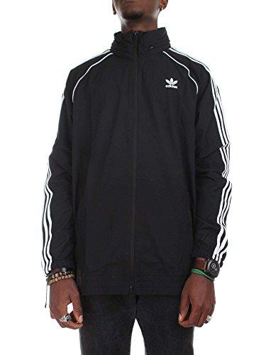 adidas Herren Sst Windbreaker Jacke, Schwarz Black
