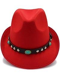 GBY Cappellino da donna con cappelli invernali in lana e cappelli invernali  vintage con cintura in 44aa27980e05